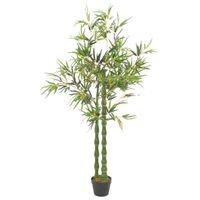 Sztuczny Bambus Z Doniczką, Zielony, 160 Cm