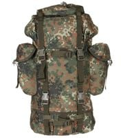 Duży plecak BW turystyczny 65 l flectarn
