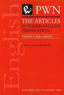 The articles in polish-english translation Douglas-Kozłowska Christian