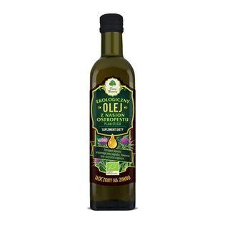 Olej z ostropestu plamistego Eko 0,1l - suplement diety Dary Natury