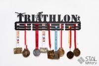 Wieszak na medale | TRIATHLON #2 | 60cm | pomieści 90szt medali
