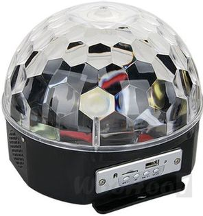 Kula Dyskotekowa LED MAGIC BALL DISCO MP3 pilot