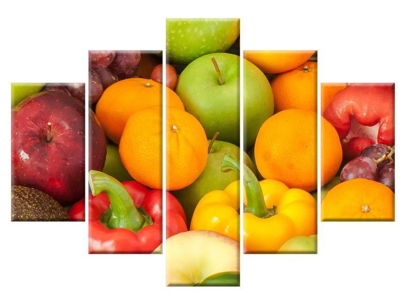 owoce i warzywa do montażu mężczyzn)