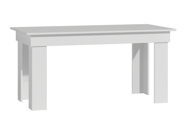Duży stół jadalnia salon 160x80x75 * biały zdjęcie 1