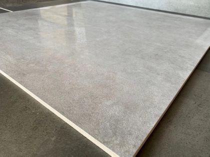 Szary betonopodobny gres 80x80 duży rozmiar TANIO