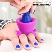 Pierścień na Lakier do Paznokci Nail Salon zdjęcie 7