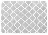 DYWAN 3D norwerski SZARY white light grey CLOVER 200x300 KONICZYNA