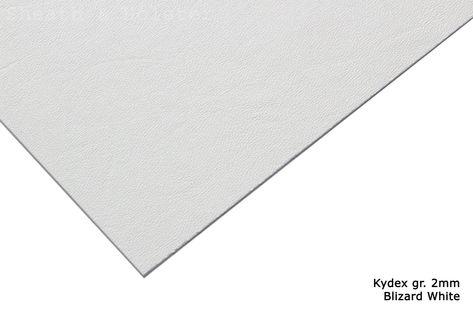 Kydex Blizzard White  - 150x200mm gr. 2mm