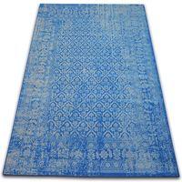 Dywan Vintage Kwiaty 22209/543 niebieski 120x170 cm niebieski