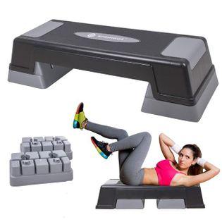 Stepper do aerobiku 3 stopnie ćwiczenia fitness