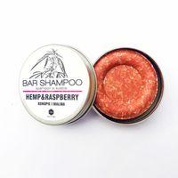 Herbs&Hydro szampon w kostce konopie z malinami 55g  - Puszka