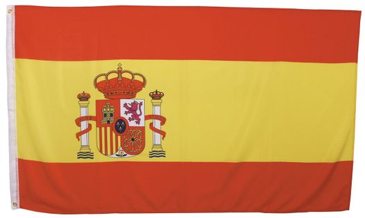 FLAGA HISZPANIA  150 x 90 cm