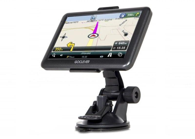 NAWIGACJA SAMOCHODOWA GPS GOCLEVER NAVIO 540 + 8GB zdjęcie 3