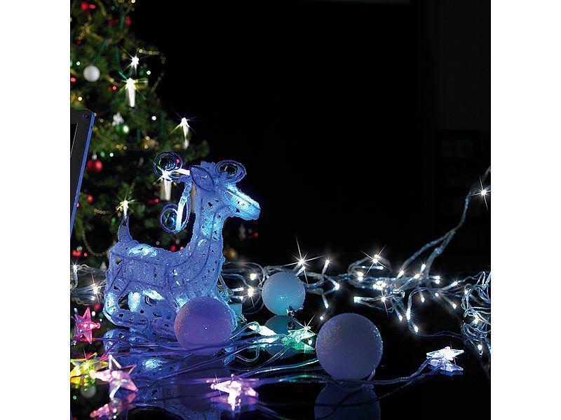 Lampki świąteczne LED ciepła biel Lunartec zdjęcie 4