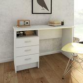 Białe biurko FUNCTION 3