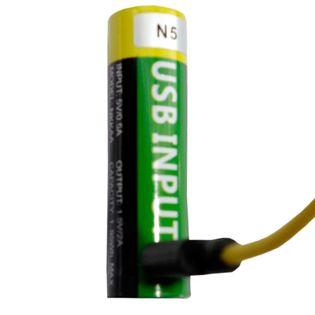Akumulator bateria AA R6 LR6 USB 1300 mAh 1,5v litowy nowy gwarancja