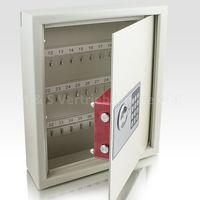 Sejf na klucze z zamkiem elektronicznym (biały) 13516
