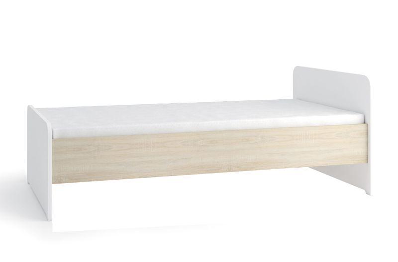 Meble Tenus 2 łóżko Z Materacem 90 Młodzieżowe Arenapl