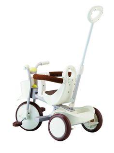 Rowerek trójkołowy IIMO - biały
