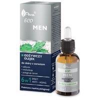 AVA Laboratorium Eco Men 30ml - olejek odżywczy do skóry z zarostem 6w1