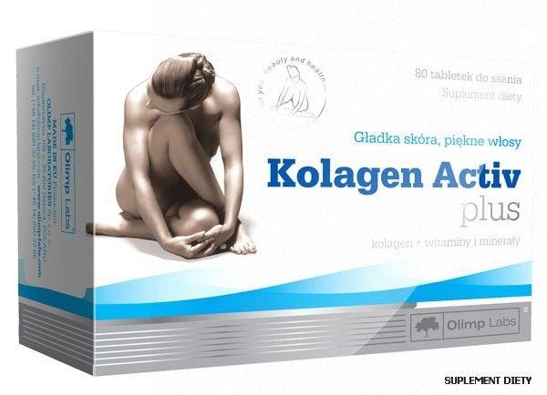 Olimp Kolagen Activ Plus 80 tabletek - Długi termin ważności! na Arena.pl