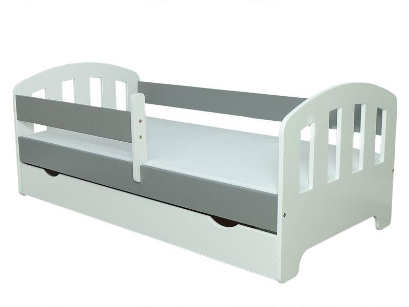 Łóżko FIFI 140x80 + szuflada + barierka zabezpieczająca + MATERAC zdjęcie 17