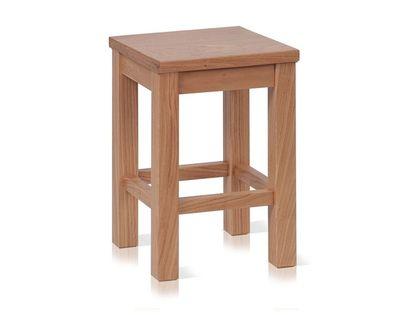 TABORET ERGO OAK P Lite drewno DĘBOWY kuchenny bejcowany
