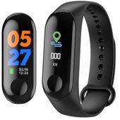 Opaska sportowa smartband pulsometr smartwatch cza