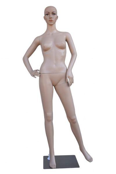 Manekin Wystawowy Pełnopostaciowy Damski podstawa Stalowa Solidny 175 zdjęcie 1