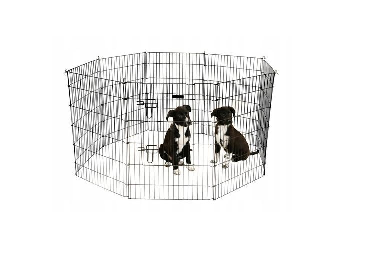 Kojec wybieg klatka 8 elem. dla psa królika 57x78 zdjęcie 1