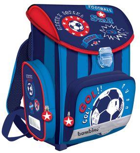 Lekki tornister szkolny dla chłopca BAMBINO FOOTBALL