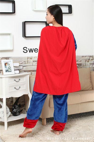 PIŻAMA KIGURUMI ONESIE KOMBINEZON SUPERMAN M zdjęcie 8