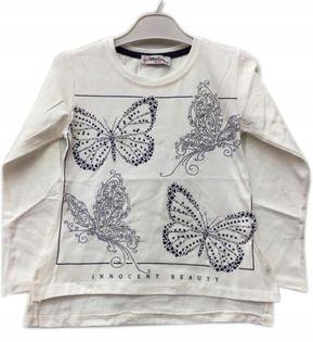 Bluzka dziewczęca Motylki. roz.110