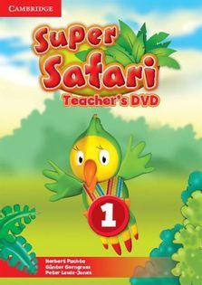 Super Safari 1 Teacher's DVD Puchta Herbert, Gerngross Günter, Lewis-Jones Peter