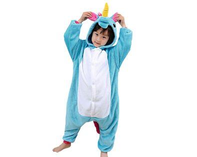 Onesie kigu piżama dla dzieci niebieski pegaz M