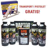 U-POL Raptor zestaw 4 x 0,75L + 1L utw. (do barwienia)
