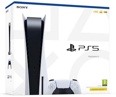 Konsola SONY PlayStation 5 z napędem