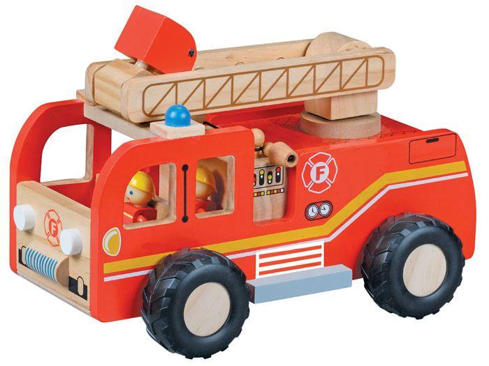 WIELKA Straż Pożarna wóz strażacki DREWNO ZA1809 zdjęcie 7