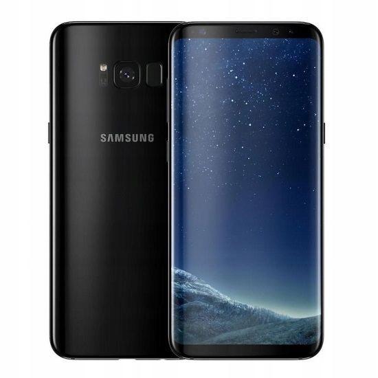 SAMSUNG GALAXY S8 64GB SM-G950F BLACK CZARNY FV23% zdjęcie 1