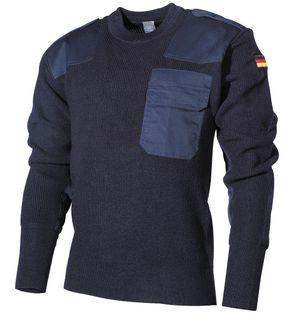 Sweter wojskowy BW niebieski