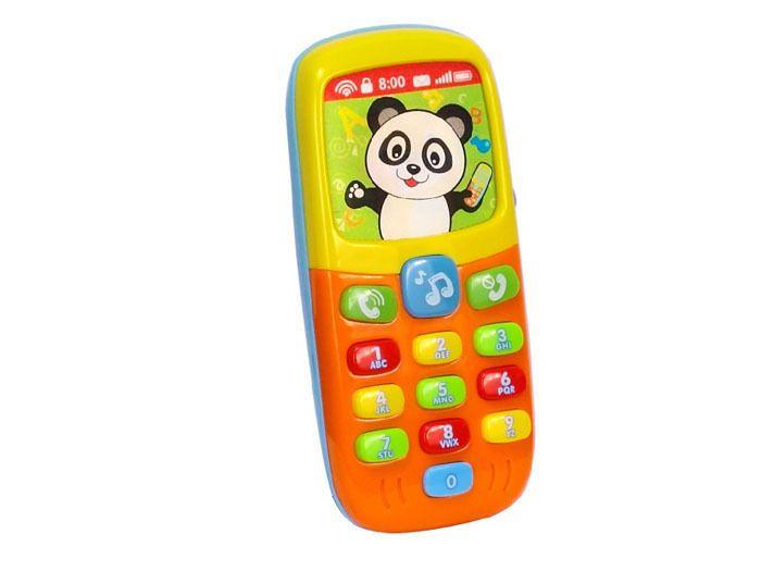 Kolorowy TELEFONIK Dla Maluszka Dźwięki Światła zdjęcie 1
