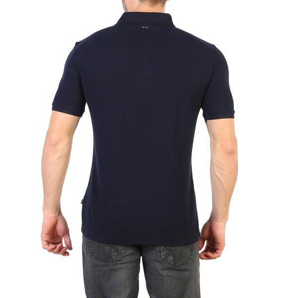 Napapijri koszulka męska polo niebieski L zdjęcie 2