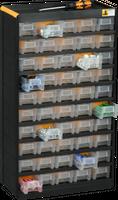 Regalik szufladkowy 50 szuflad - 300x135x525 mm