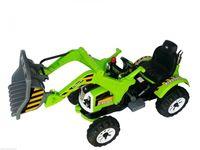 Traktor z ruchomą łyżką KINGDOM zielony stoys