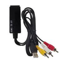 Konwerter obrazu i dźwięku z HDMI na AV 3x cinch