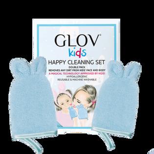 GLOV Kids rękawiczki do mycia dziecka Happy Cleaning Set