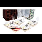 Wiklinowy Kosz piknikowy Luksus dla 4 osób zdjęcie 4