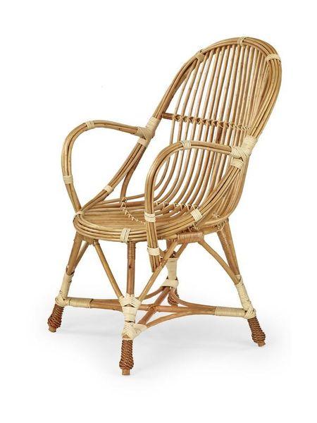WICKER krzesło wiklinowe, kolor: naturalny zdjęcie 1