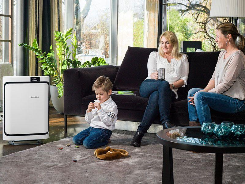 Oczyszczacz powietrza BONECO Air Purifier P500 + gratis nawilżacz zdjęcie 4
