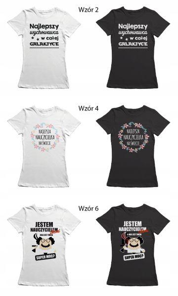 Koszulka dla nauczycielki prezent dzień T-shirt zdjęcie 11